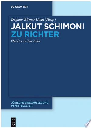 Download Jalkut Schimoni Zu Richter Free Books - Get Bestseller Books For Free
