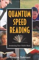 Quantum Speed Reading Pdf/ePub eBook