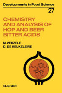 Chemistry and Analysis of Hop and Beer Bitter Acids