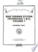 Gas Turbine System Technician 1   C  Volume 1 Book