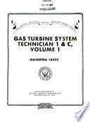Gas Turbine System Technician 1   C  Volume 1