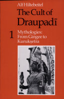 The Cult of Draupadi  Volume 1