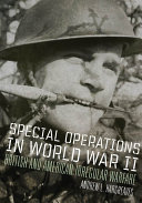 Special Operations in World War II