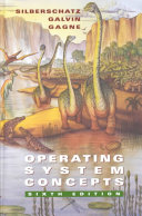 Cover of Operating System Concepts