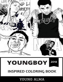 YoungBoy Inspired Coloring Book