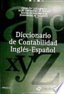 Diccionario de contabilidad inglés-español