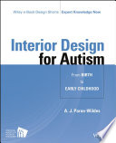 Interior Design for Autism from Birth to Early Childhood Book