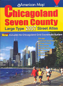 American Map Chicagoland Seven County Atlas