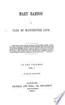 Mary Barton ... [By E. C. Gaskell.] Fourth edition Pdf/ePub eBook