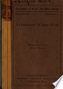 A Community Welfare Week