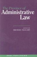 The Province of Administrative Law