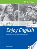 Let's Enjoy English A1 Review. Teacher's Book