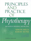 Principles and Practice of Phytotherapy Book