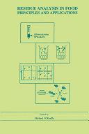 Residue Analysis in Food Pdf/ePub eBook