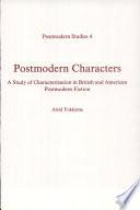 Postmodern Characters Book PDF