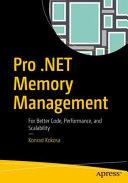 Pro  NET Memory Management