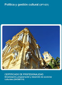 UF1421 - Política y gestión cultural
