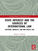 State Interest and the Sources of International Law [Pdf/ePub] eBook