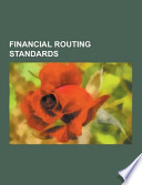 Financial Routing Standards