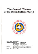 The General Themes of the Ocean Culture World
