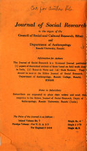 Journal Of Social Research