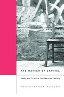 The Matter of Capital Book