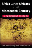 Pdf Africa and the Africans in the Nineteenth Century: A Turbulent History Telecharger