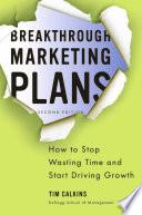 Thumbnail Breakthrough marketing plans