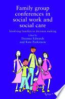 Family group conferences in social work Book