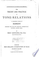 The Theory and Practice of Tone Relations