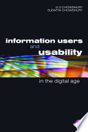 Information Users and Usability in the Digital Age Book