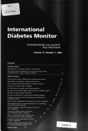 International Diabetes Monitor