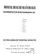 Mental Health Materials