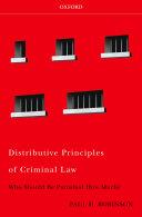 Distributive Principles of Criminal Law [Pdf/ePub] eBook