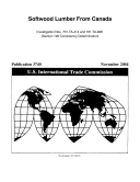 Softwood Lumber from Canada, Invs. 701-TA-414 and 731-TA-928 (Section 129 Consistency Determination) Book