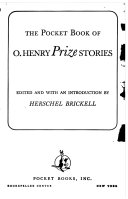 The Pocket Book of O  Henry Prize Stories Book