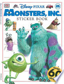 Monsters, Inc. Sticker Book