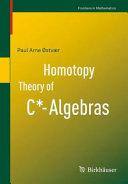 Pdf Homotopy Theory of C*-Algebras