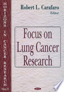 Focus On Lung Cancer Research Book PDF