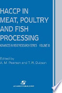 Haccp In Meat Poultry And Fish Processing Book PDF