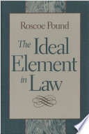 The Ideal Element in Law