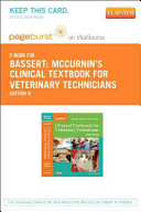 Mccurnin S Clinical Textbook For Veterinary Technicians Pageburst E Book On Vitalsource Retail Access Card