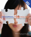 Abnormal Psychology  Clinical Perspectives on Psychological Disorders with DSM 5 Update Book