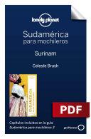 Sudamérica para mochileros 3. Surinam