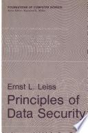 Principles of Data Security Book