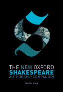 The New Oxford Shakespeare: Authorship Companion [Pdf/ePub] eBook