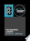 The Modern Lovers  The Modern Lovers Book