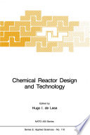 Chemical Reactor Design and Technology Book