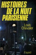 Pdf Histoires de la nuit parisienne Telecharger