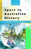 Sport in Australian History Book